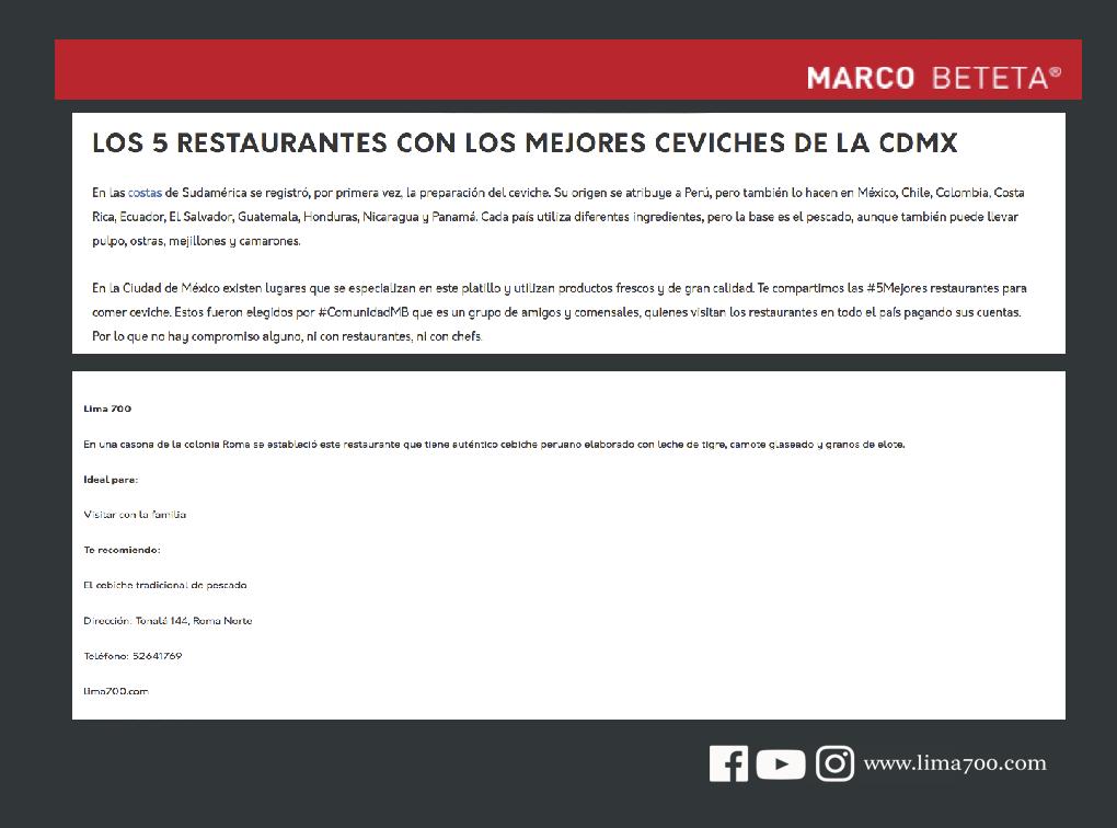Eventos, entrevistas, reportajes y más. – Comida Peruana en el ...